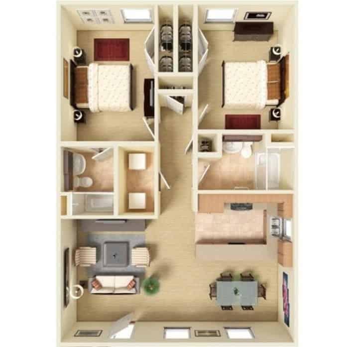 Pet-friendly Two-Bedroom Apartments In Decatur, AL